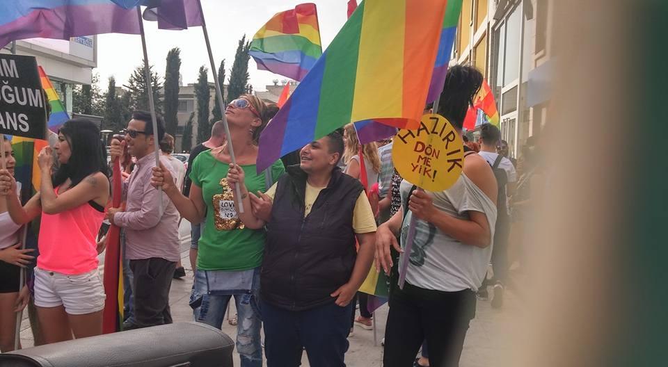KKTC Onur Yürüyüşü Yapıldı galerisi resim 6