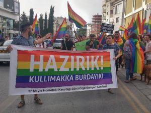 KKTC Onur Yürüyüşü Yapıldı