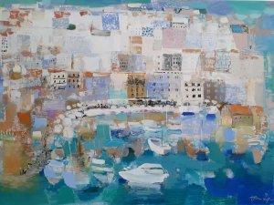 Sanatçı Ketevan Shalamberidze, Kıbrıs Modern Sanat Müzesi için karantina