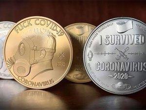 Corona virüs hatıra parası tasarlandı...İşte tasarımlar