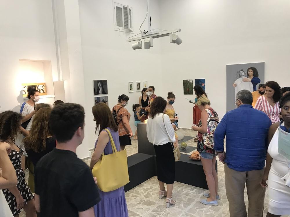 ARUCAD Öğrencilerinin Yaz Sergisi Açıldı galerisi resim 1