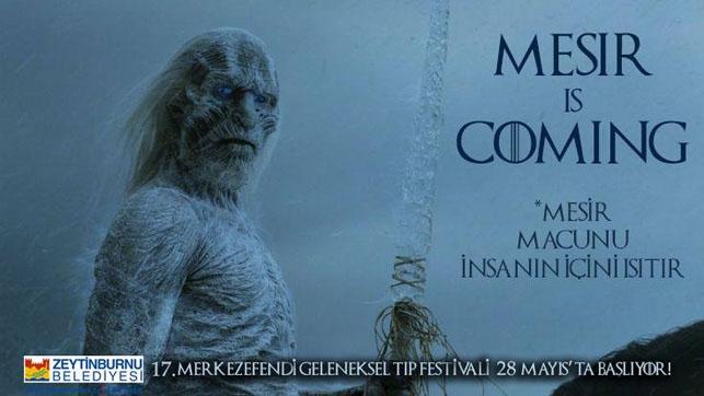 Game of Thrones Zeytinburnu Belediyesi'nin tıp festivalinde: Mesir  galerisi resim 1