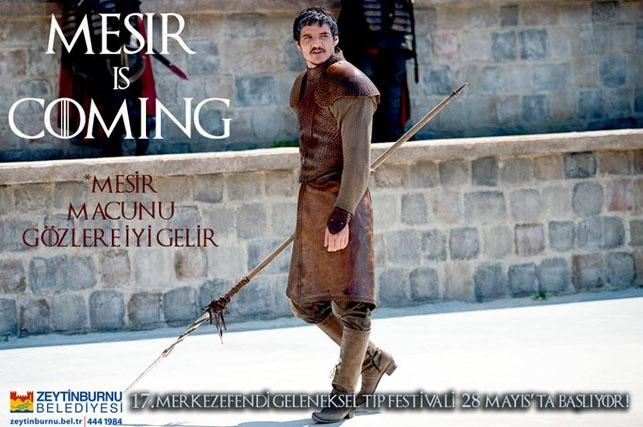 Game of Thrones Zeytinburnu Belediyesi'nin tıp festivalinde: Mesir  galerisi resim 11