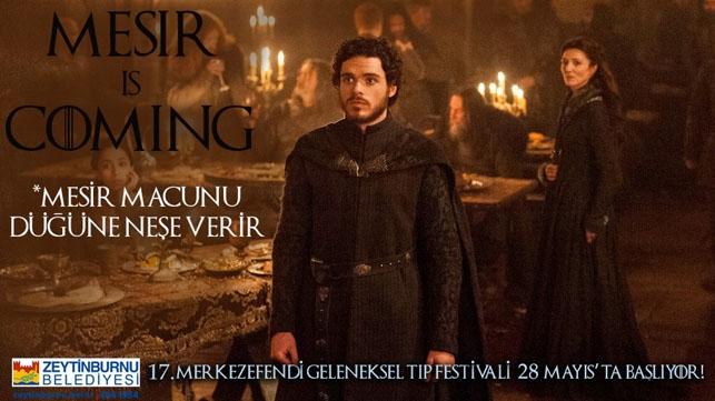 Game of Thrones Zeytinburnu Belediyesi'nin tıp festivalinde: Mesir  galerisi resim 3