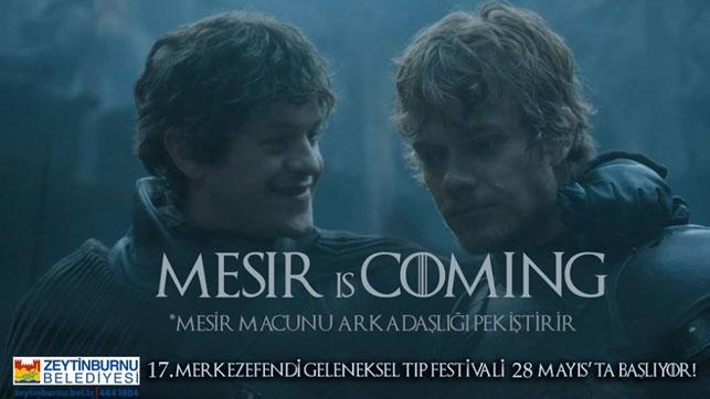 Game of Thrones Zeytinburnu Belediyesi'nin tıp festivalinde: Mesir  galerisi resim 7