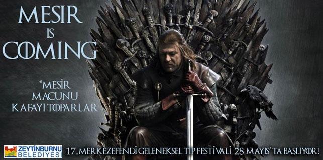 Game of Thrones Zeytinburnu Belediyesi'nin tıp festivalinde: Mesir  galerisi resim 8