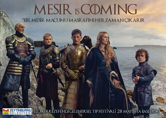 Game of Thrones Zeytinburnu Belediyesi'nin tıp festivalinde: Mesir  galerisi resim 9