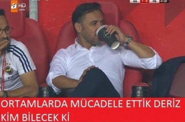 Galatasaray - Fenerbahçe maçı sonrası capsler patladı galerisi resim 1