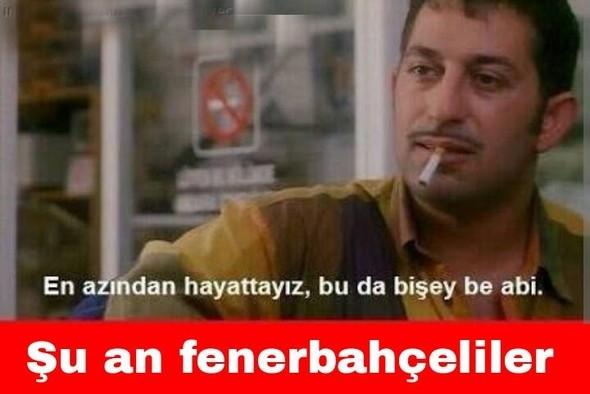Galatasaray - Fenerbahçe maçı sonrası capsler patladı galerisi resim 5