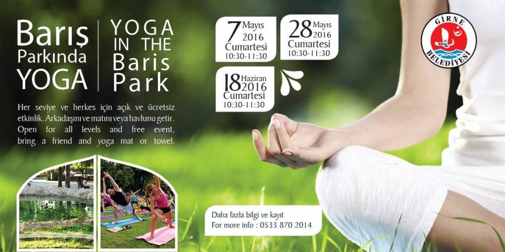 Girne'de parklarda yoga galerisi resim 1