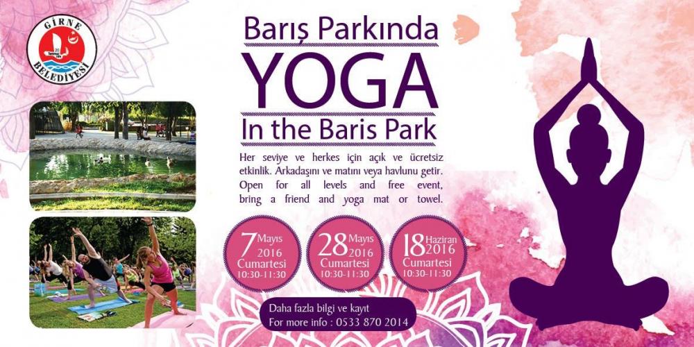 Girne'de parklarda yoga galerisi resim 2