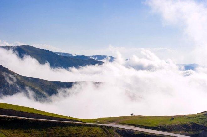 Bulutların üzerindeki yayla seyri doyumsuz manzarasıyla büyülüyor galerisi resim 5