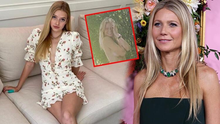 Gwyneth Paltrow'un çıplak doğum günü pozundan kızı utandı galerisi resim 1