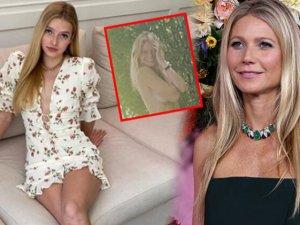 Gwyneth Paltrow'un çıplak doğum günü pozundan kızı utandı