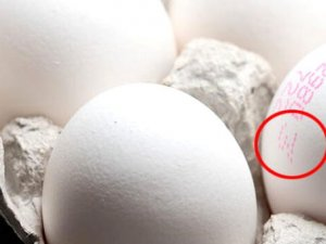 Yumurta alırken bu koda dikkat! 3 numara yazıyorsa bir kez daha düşünün