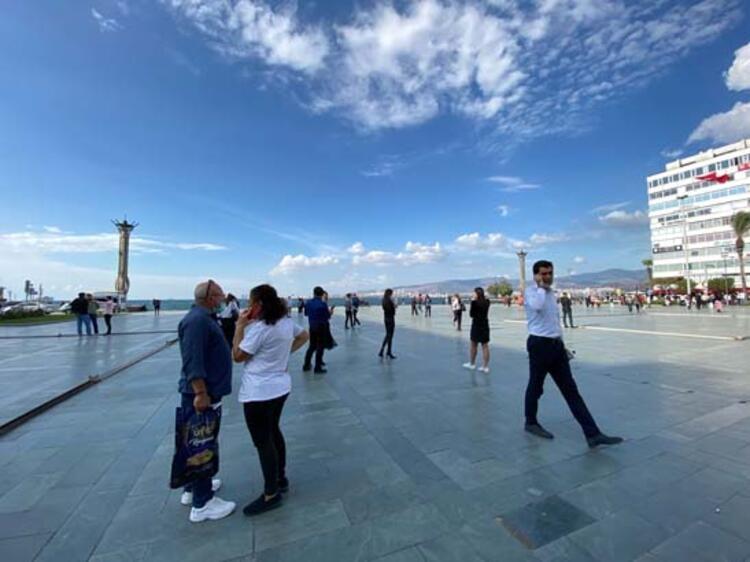 Son Dakika! İzmir'deki deprem ilk görüntüler! galerisi resim 10