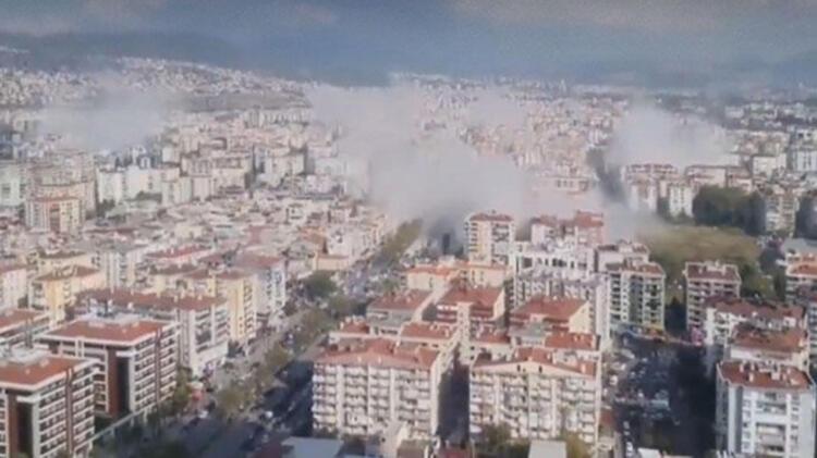 Son Dakika! İzmir'deki deprem ilk görüntüler! galerisi resim 2
