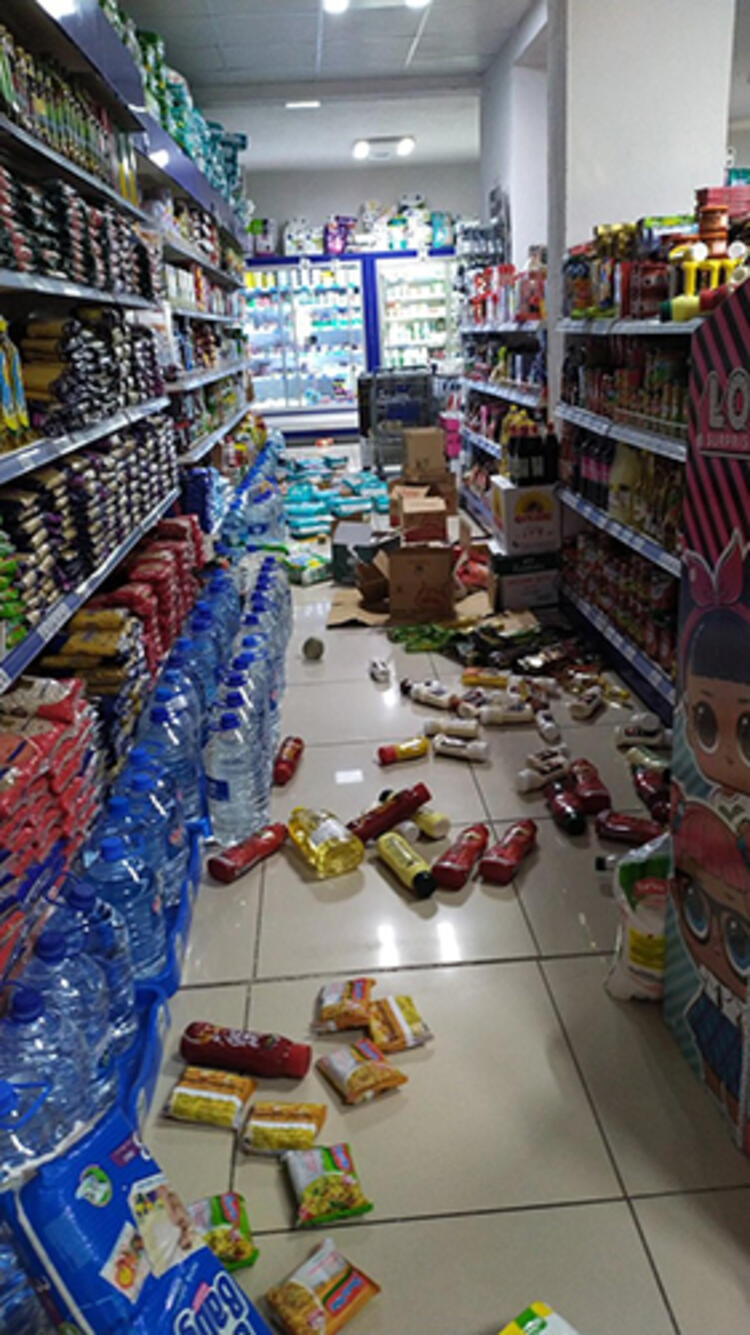 Son Dakika! İzmir'deki deprem ilk görüntüler! galerisi resim 7