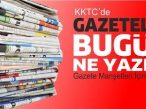 KKTC'de gazeteler bugün ne yazdı? 31 Ekim 2020 Cumartesi
