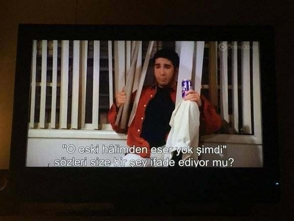 Dili türkçeleşirken, kültürü de türkleşmiş altyazılar galerisi resim 15