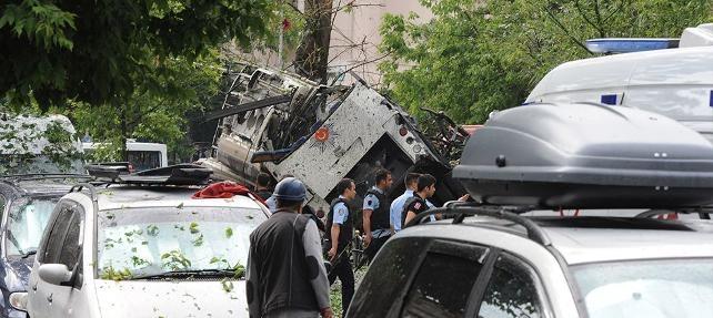 İstanbul'da şiddetli patlama: Yaralılar var (ilk görüntüler) galerisi resim 2