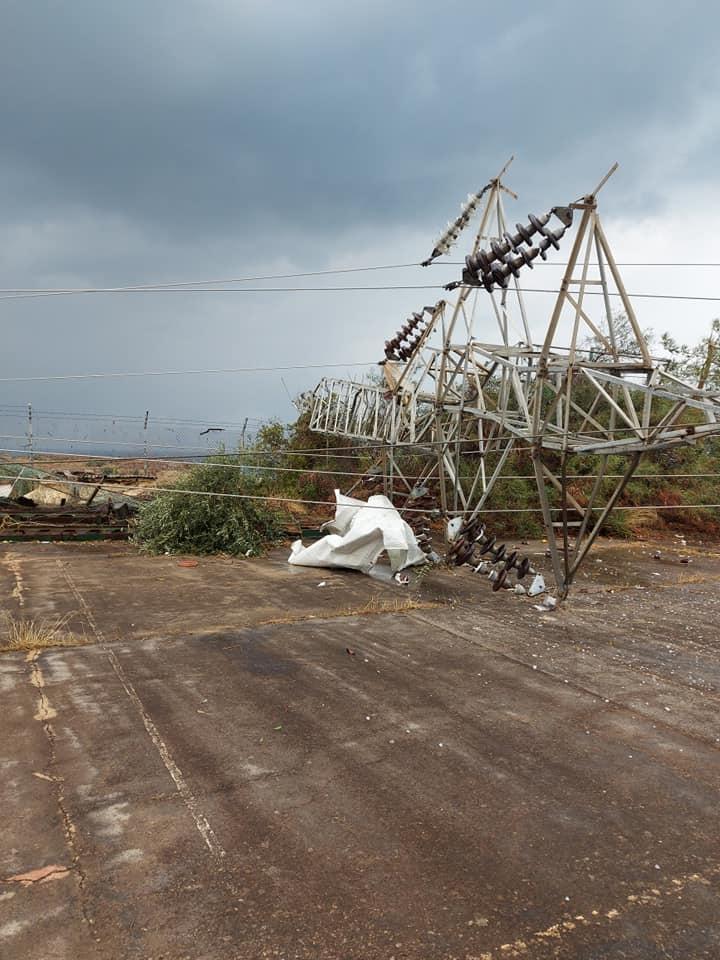 Hortum Teknecik Elektrik Santrali'ni de vurdu.. Ciddi hasar var... galerisi resim 1