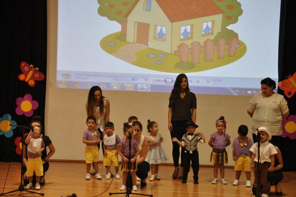 Yakın Doğu İlkokulu Okul Öncesi ve Kreş Bölümünün Miniklerinden Muhteşem galerisi resim 2