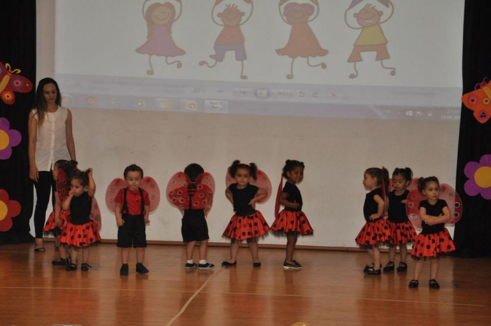Yakın Doğu İlkokulu Okul Öncesi ve Kreş Bölümünün Miniklerinden Muhteşem galerisi resim 6