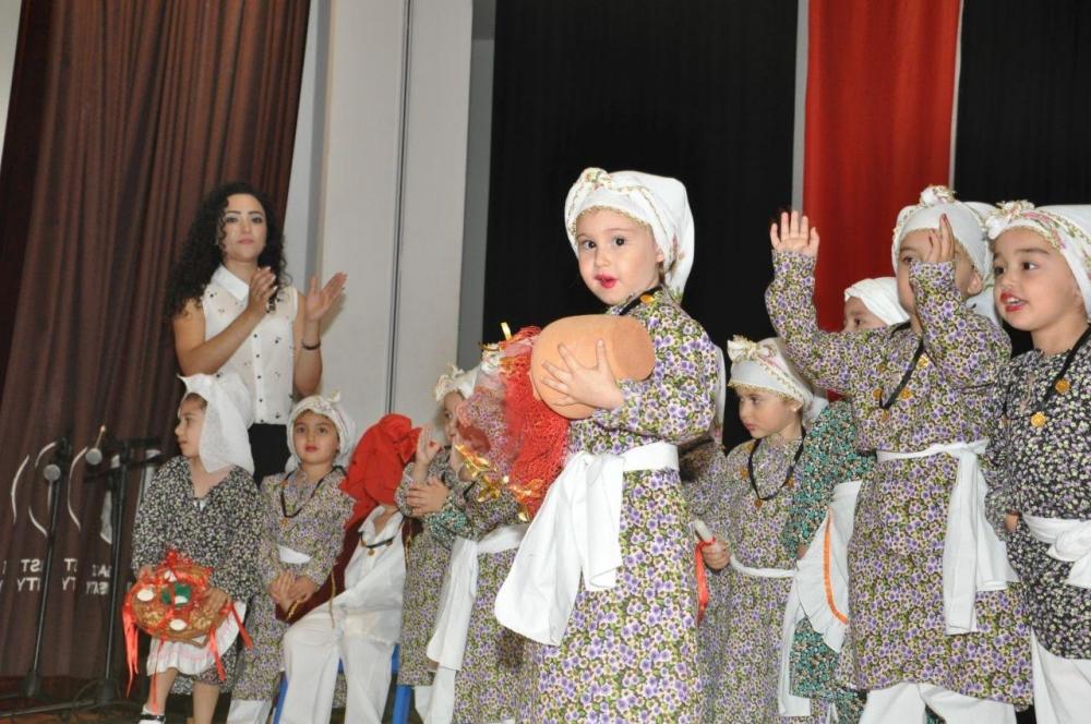 Yakın Doğu İlkokulu Okul Öncesi ve Kreş Bölümünün Miniklerinden Muhteşem galerisi resim 7