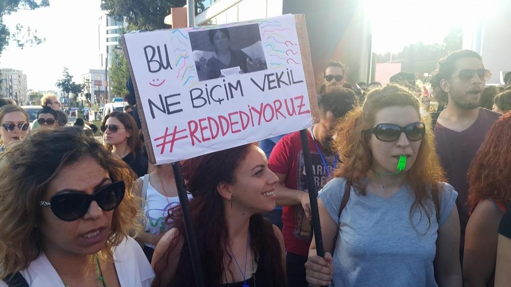 Yüzlerce Genç  Lefkoşa'da Koordinasyon Ofisini #Reddediyor galerisi resim 1