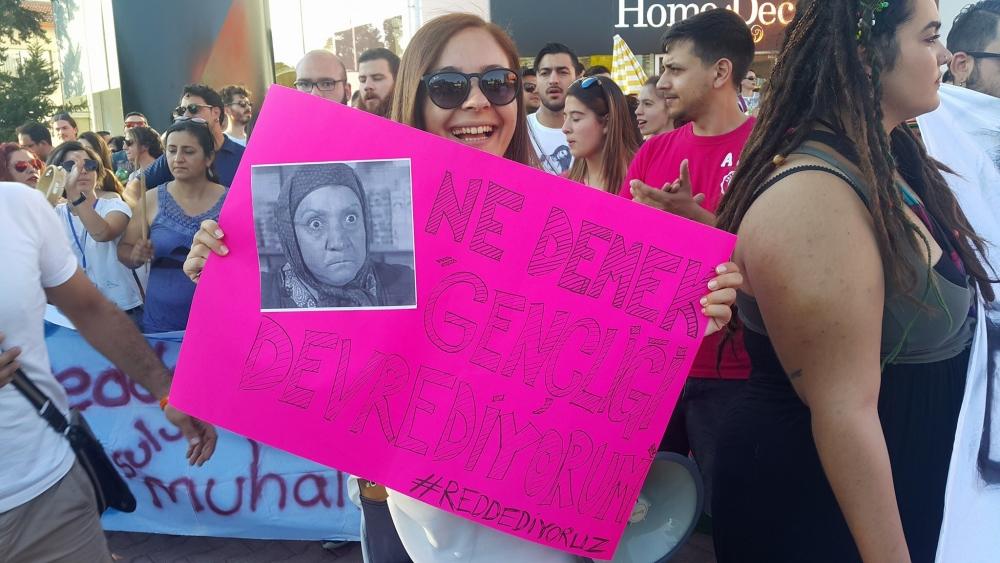 Yüzlerce Genç  Lefkoşa'da Koordinasyon Ofisini #Reddediyor galerisi resim 10