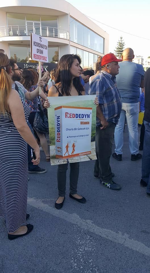 Yüzlerce Genç  Lefkoşa'da Koordinasyon Ofisini #Reddediyor galerisi resim 13