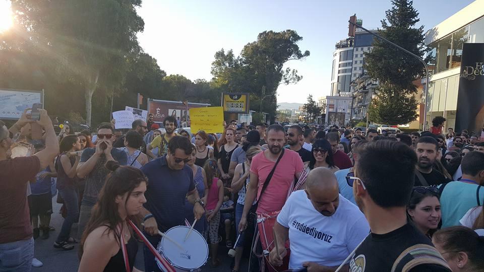 Yüzlerce Genç  Lefkoşa'da Koordinasyon Ofisini #Reddediyor galerisi resim 15