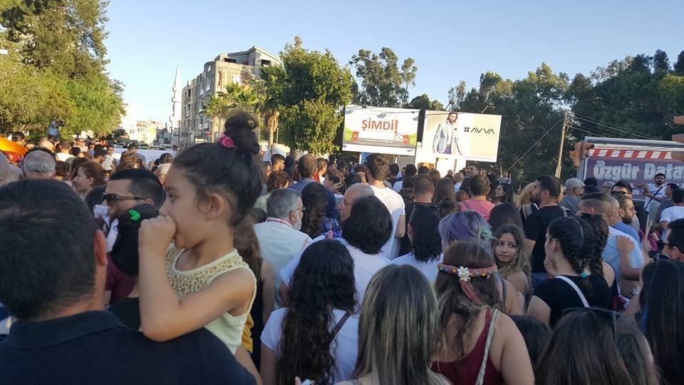 Yüzlerce Genç  Lefkoşa'da Koordinasyon Ofisini #Reddediyor galerisi resim 16