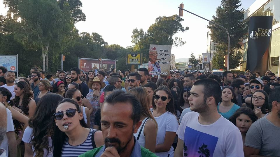 Yüzlerce Genç  Lefkoşa'da Koordinasyon Ofisini #Reddediyor galerisi resim 17