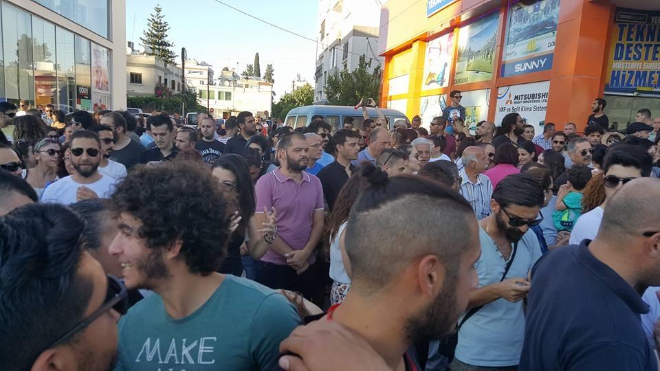 Yüzlerce Genç  Lefkoşa'da Koordinasyon Ofisini #Reddediyor galerisi resim 18
