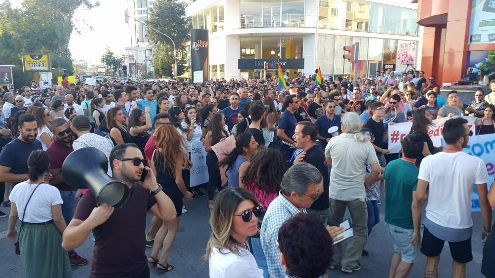 Yüzlerce Genç  Lefkoşa'da Koordinasyon Ofisini #Reddediyor galerisi resim 19
