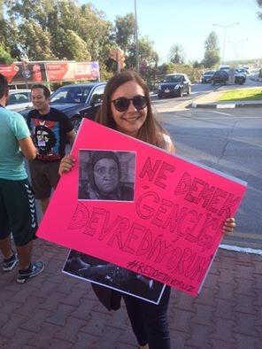 Yüzlerce Genç  Lefkoşa'da Koordinasyon Ofisini #Reddediyor galerisi resim 2