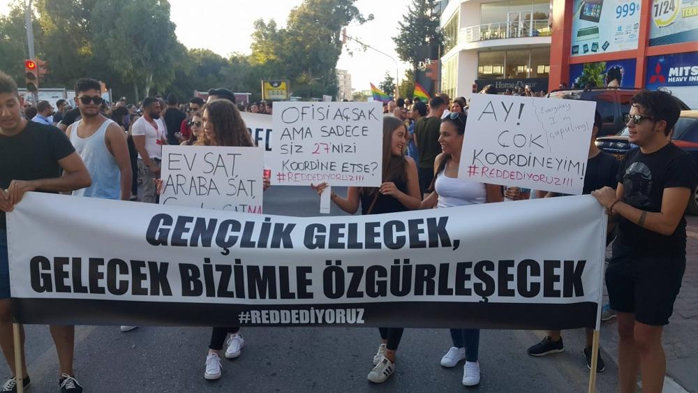 Yüzlerce Genç  Lefkoşa'da Koordinasyon Ofisini #Reddediyor galerisi resim 20