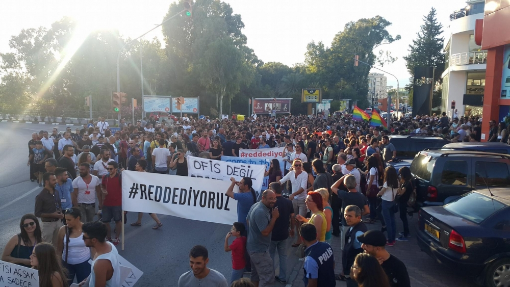 Yüzlerce Genç  Lefkoşa'da Koordinasyon Ofisini #Reddediyor galerisi resim 21