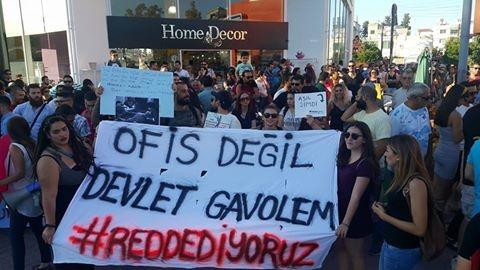 Yüzlerce Genç  Lefkoşa'da Koordinasyon Ofisini #Reddediyor galerisi resim 3