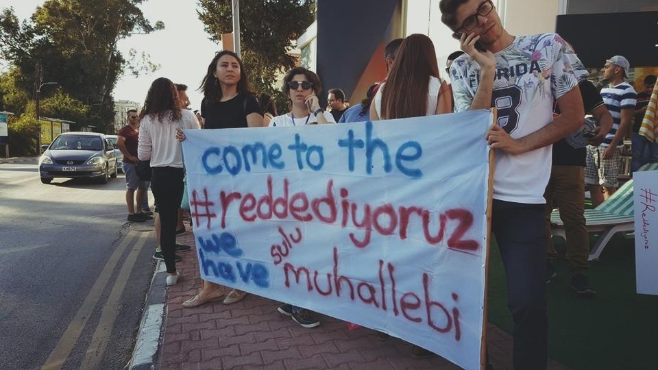 Yüzlerce Genç  Lefkoşa'da Koordinasyon Ofisini #Reddediyor galerisi resim 4