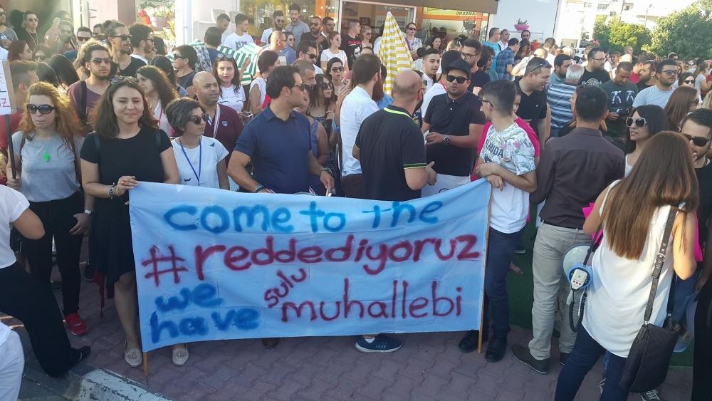 Yüzlerce Genç  Lefkoşa'da Koordinasyon Ofisini #Reddediyor galerisi resim 5