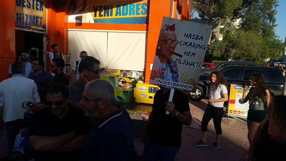 Yüzlerce Genç  Lefkoşa'da Koordinasyon Ofisini #Reddediyor galerisi resim 6