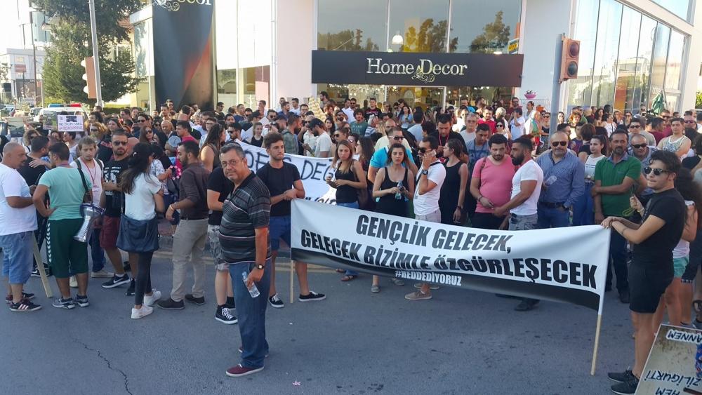 Yüzlerce Genç  Lefkoşa'da Koordinasyon Ofisini #Reddediyor galerisi resim 9