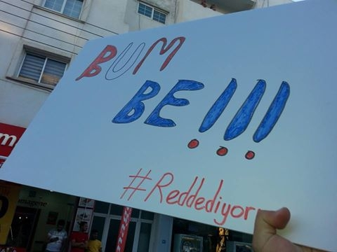 #Reddediyoruz eylemine binlerce  genç katıldı galerisi resim 1