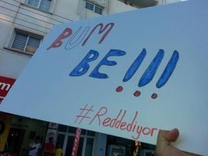 #Reddediyoruz eylemine binlerce  genç katıldı