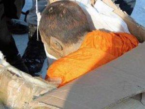 Kendilerini işkenceyle öldürüyorlar! Canlı canlı mumyalanan rahipler gör
