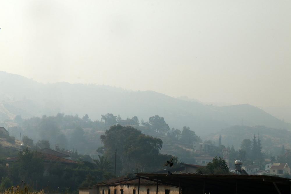 Yangın 2 can aldı. İşte Trodos'taki büyük yangından fotoğraflar galerisi resim 17