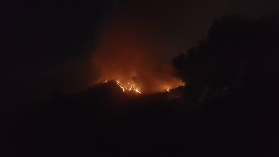 Yangın 2 can aldı. İşte Trodos'taki büyük yangından fotoğraflar galerisi resim 2